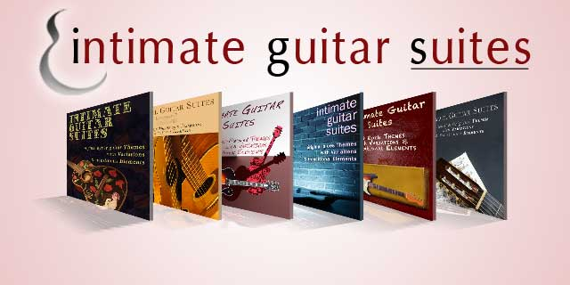 Intimate Guitar Suites product line